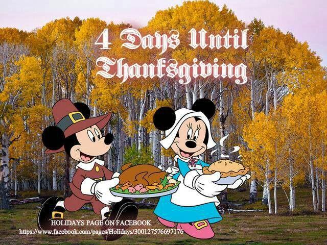 Happy Thanksgiving   Disney thanksgiving, Mickey, Minnie ...