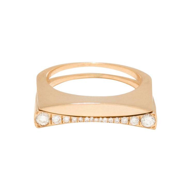 Tilda Biehn Mixed Diamond Ring Set