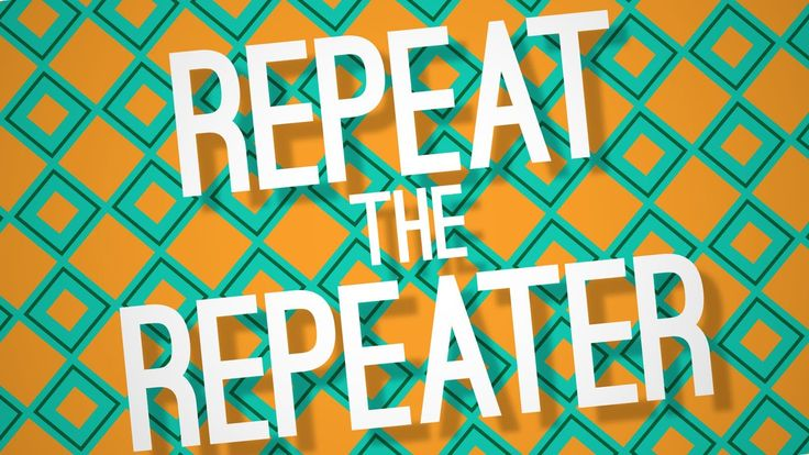Alina likes this:  Repeat The Repeater (For Psychedelic Patterns!) - Adobe After Effects tu...