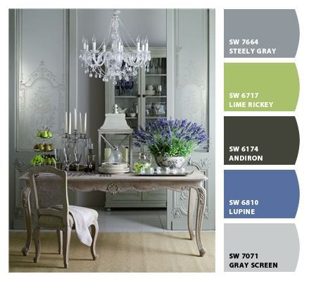 color palatte for dining room?