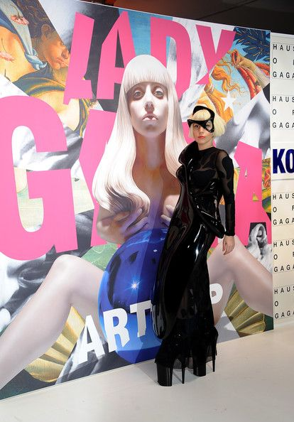 "Lady Gaga Photos Photos - Musician Lady Gaga attends the ArtRAVE: Lady Gaga's ""Artpop"" Official Album Release Party at the Brooklyn Navy Yard  on November 10, 2013 in Brooklyn, New York City. - artRAVE: Lady Gaga's ""Artpop"" Official Album Release Party"