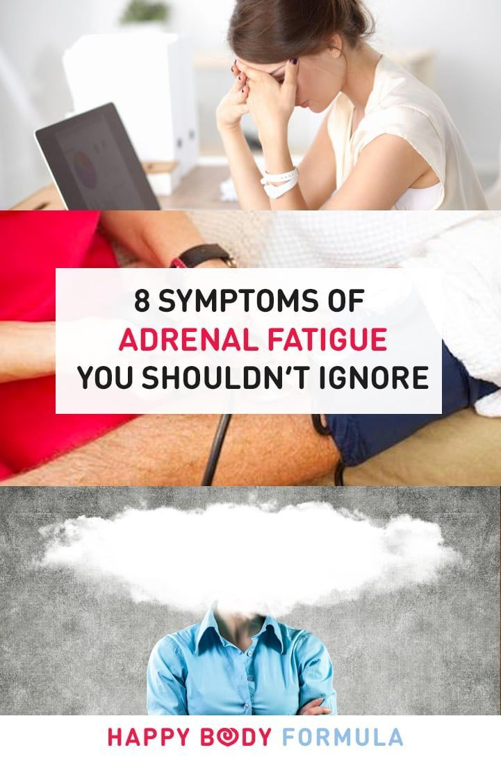 8 Adrenal Fatigue Symptoms You Shouldn't Ignore & How To Recover