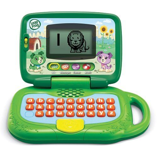 LeapFrog My Own Leaptop, Green LeapFrog Enterprises http://smile.amazon.com/dp/B0038AJYSS/ref=cm_sw_r_pi_dp_1.EYwb09EE7KP