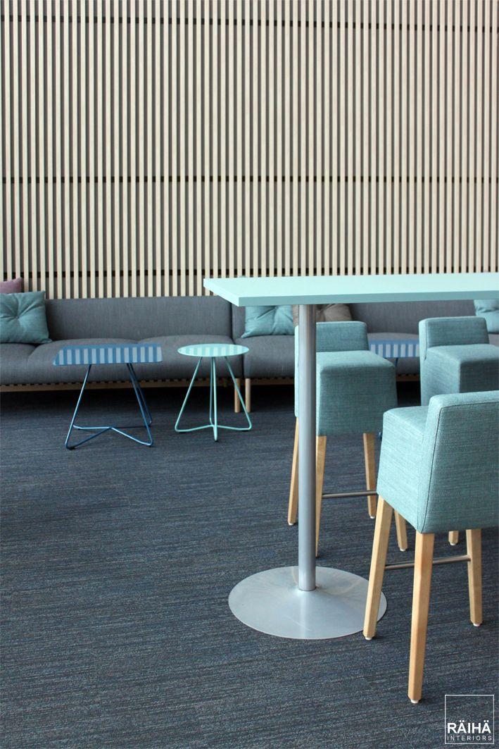 interior architecture by RÄIHÄ interiors   office design 2016   modern office, go-working area, lobby, entrance, trend colors 2017. Interior design Räihä interiors, Päivi&Lars Räihä 2016.