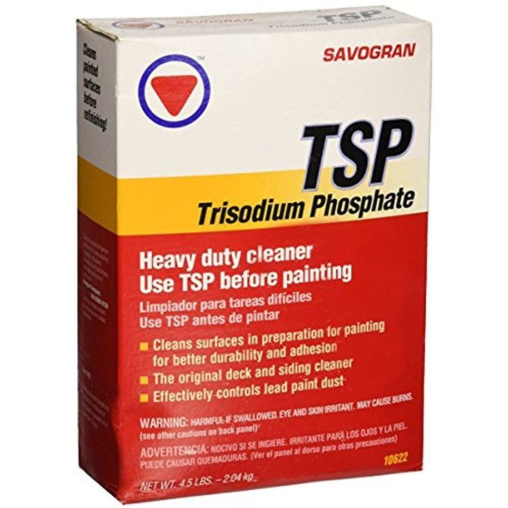 Savogran Trisodium Phosphate Removes Smoke and Soot Stains From Walls 4.5lbs #Savogran