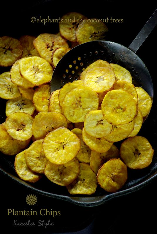 The best fried Plantain Chips u will ever have with the goodness of coconut oil. #Keralarecipe