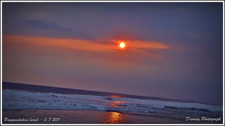 Ujung Genteng's Sunset