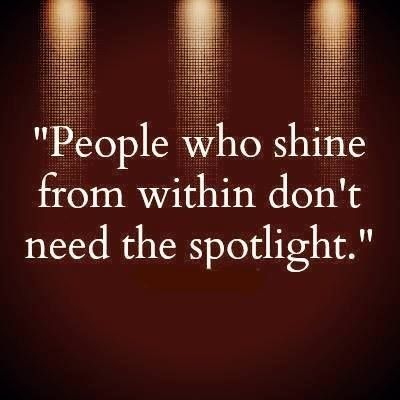 """People who shine from within don't need the spotlight!"" #dancelife #pushyourself"