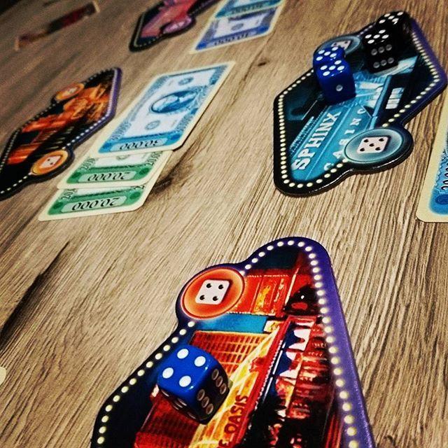 #LasVegas ist was schnelles für zwischendurch. #alea #Brettspiele #brettspiel #boardgames #boardgame #fb
