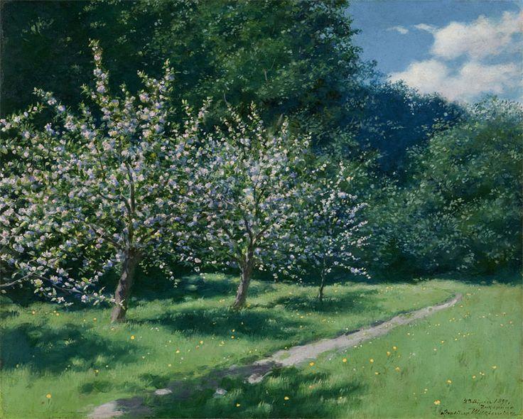 Stanisław Witkiewicz, Kwitnące jabłonie // Blooming apple trees