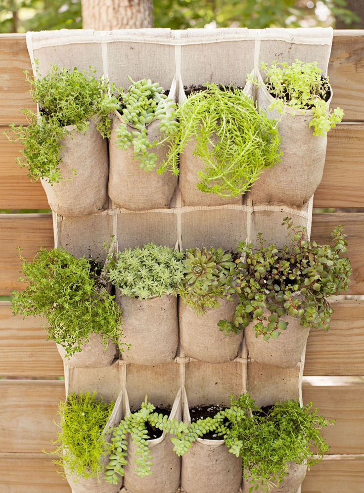 Pocketed Plants  - GoodHousekeeping.com