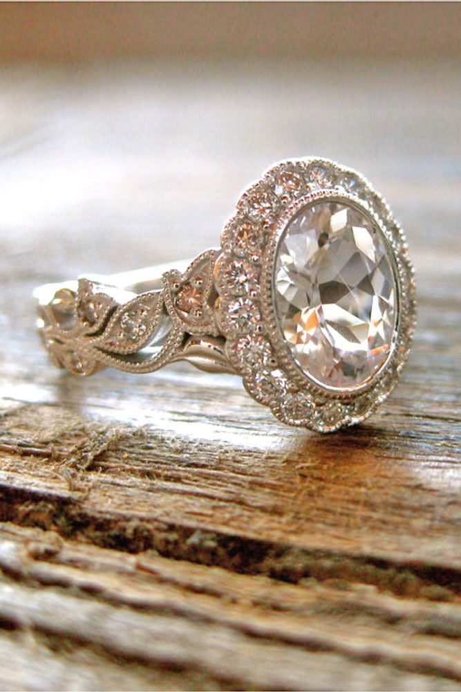 Fabulous Best Vintage oval engagement rings ideas on Pinterest Vintage style engagement rings Gold wedding rings and Beautiful engagement rings