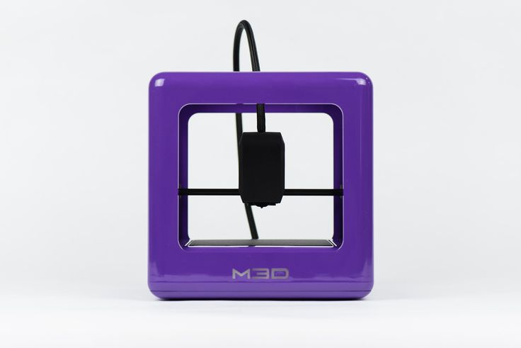 The Micro 3D Printer Retail Edition - [Purple] Auto-calibrating 3D Printer, Assorted 3D Ink - 1 Spool, 1.75mm, 0.5lb., Windows Software, External Filament Port. Plug and play right out of the box. Simply download models and watch your creations come to life. Achieve high-quality print consistency every time with built-in auto-calibration technology. Sleek, compact, and quiet 3D printer, perfect for indoor use. The only consumer friendly 3D printer with UL safety rating.