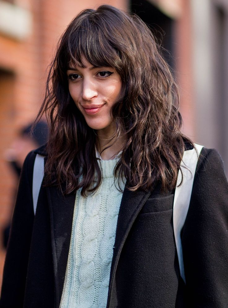 Best 25 Colored Bangs Ideas On Pinterest  Hair Fringe -8321
