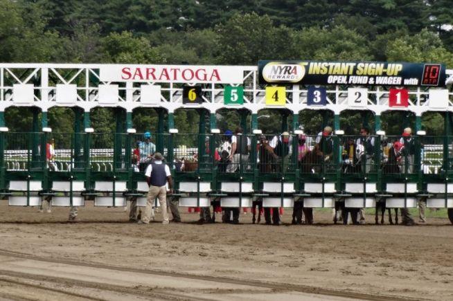 Saratoga Race Track NY