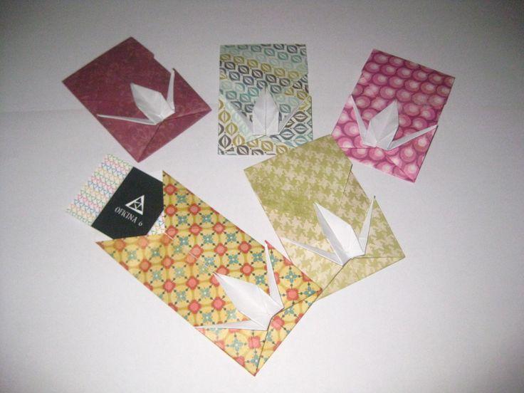 Origami Envelope  More info: https://www.facebook.com/oficinaa6shop