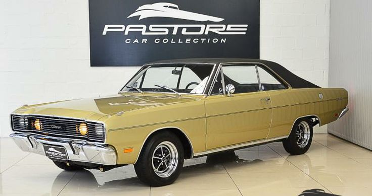 Dodge Charger 1972 Ouro Espanhol Pastore Car Collection