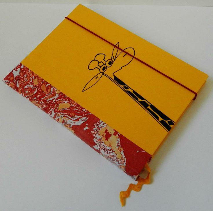 Handmade notebook Material: paper