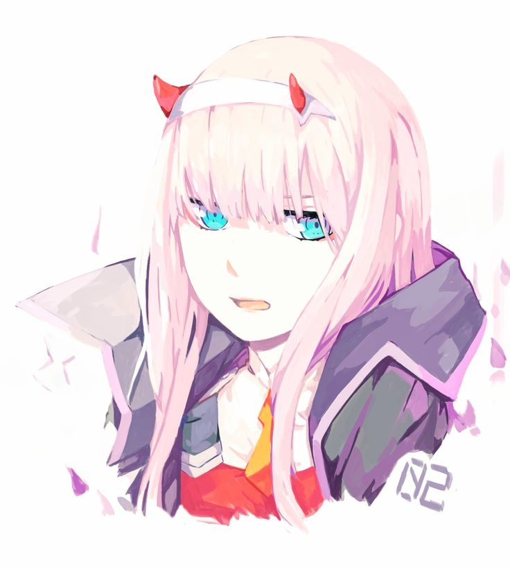 Zero Two Darling in the FranXX GG anime Darling in