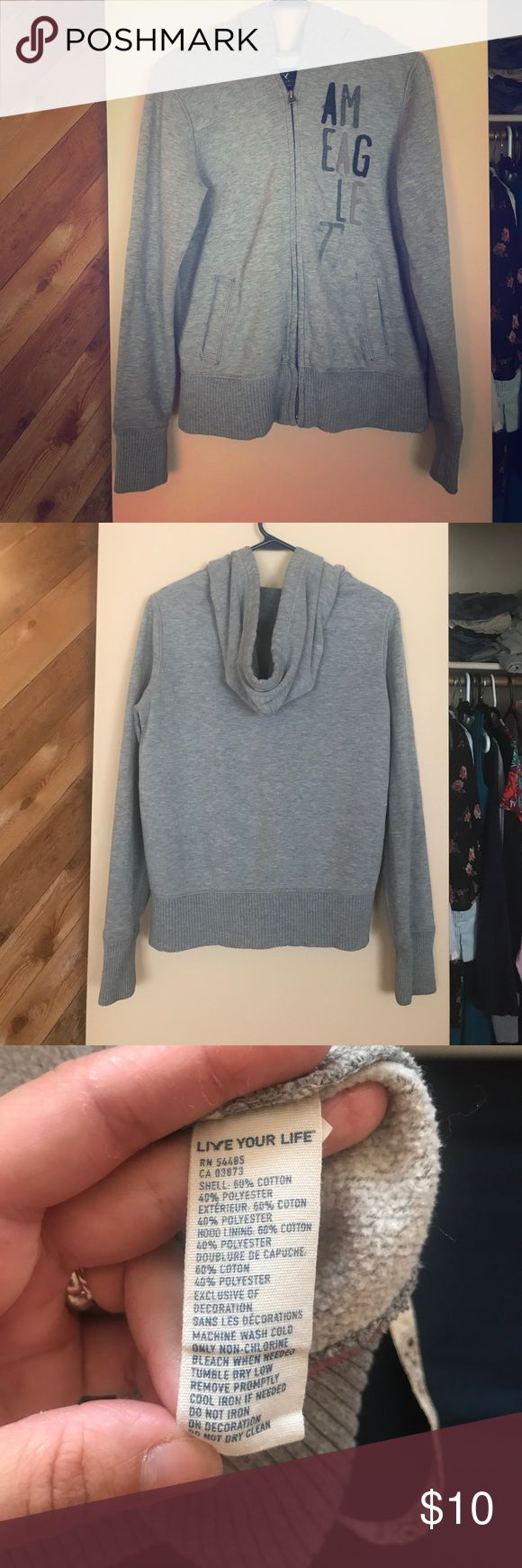 American Eagle sweatshirt In good condition. String in hood is missing American Eagle Outfitters Jackets & Coats