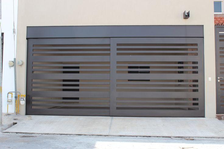 Best 25 portones corredizos ideas on pinterest hardware for Portones para garage
