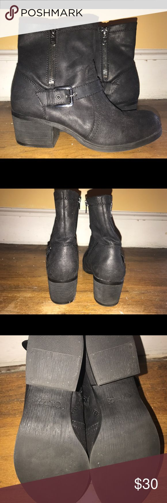 Carlos Santana Rolla Boot size 11 Carlos Santana Rolla boot size 11. Like new, worn 3 times. Suede outter Moto boot. Carlos Santana Shoes Combat & Moto Boots