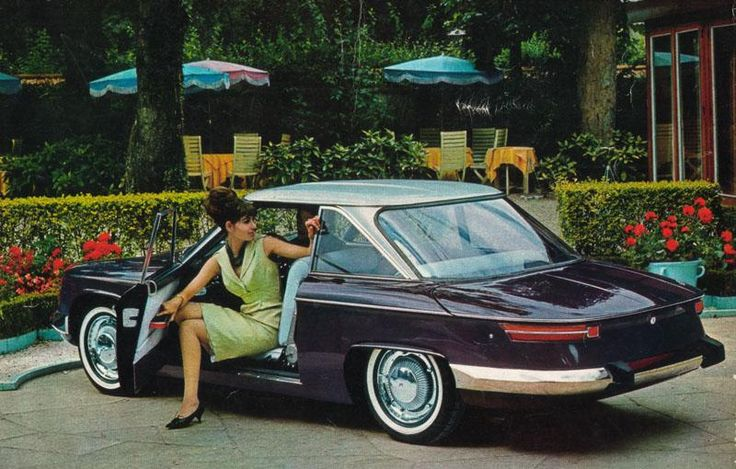 Panhard 24TC: The back is the good end.The front looks like a1967 citroen ds