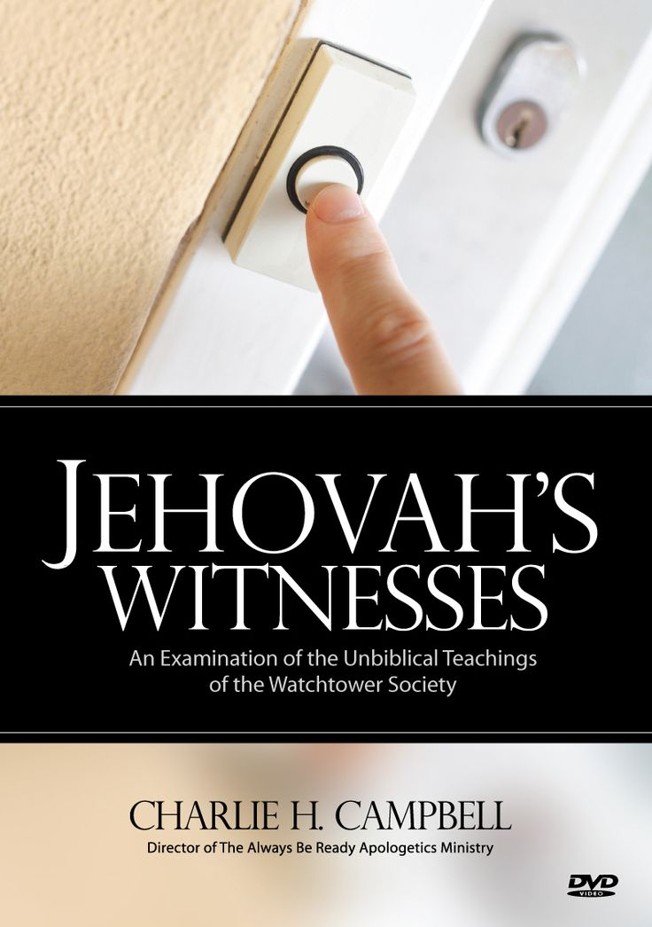 Always Be Ready Apologetics Store - Jehovah's Witnesses: An Examination of the Unbiblical Teachings of the Watchtower Society (DVD), $11.95 (http://alwaysbeready.mybigcommerce.com/jehovahs-witnesses-an-examination-of-the-unbiblical-teachings-of-the-watchtower-society-dvd/)