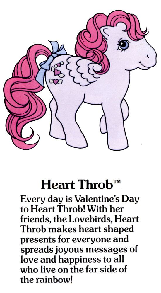 My Little Pony Heart Throb fact file ...