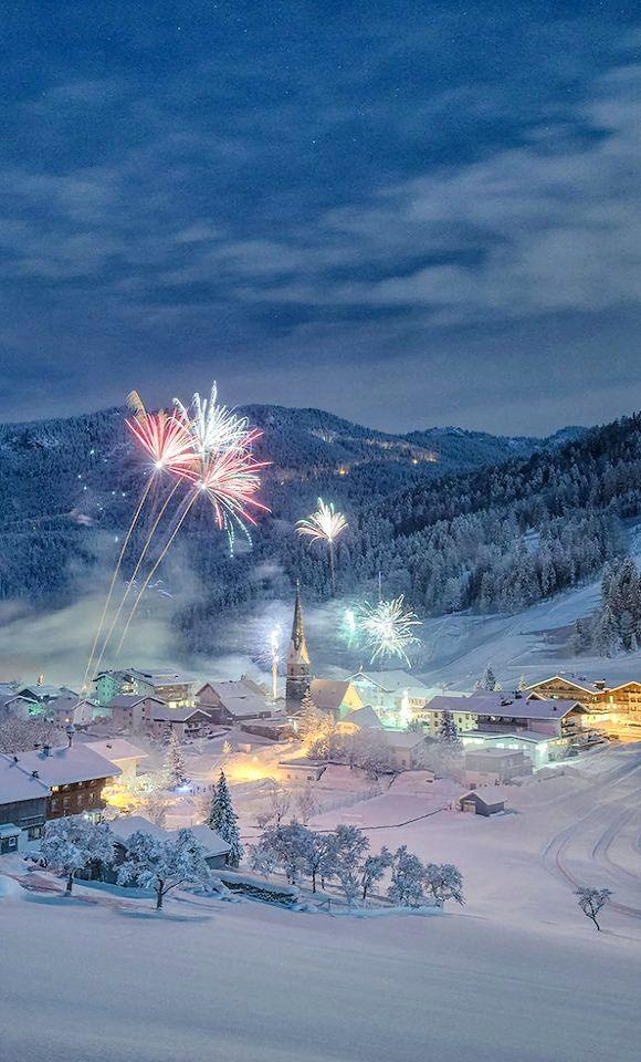 Hinterthiersee village in Tyrol, Austria by Stefan Thaler