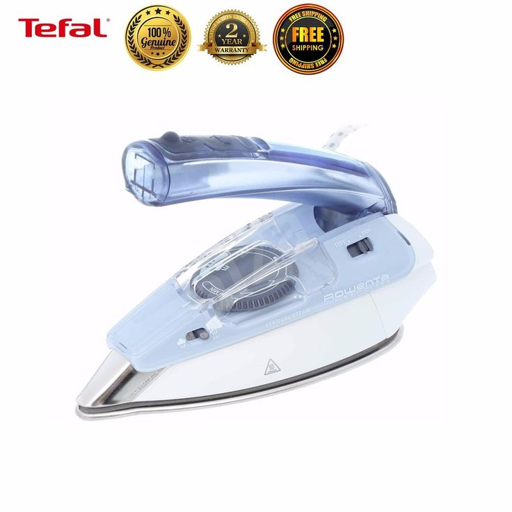 Tefal DA1510K2 Garment Steamer Fabric Travel Portable Steam Iron Clothes Laundry #Tefal