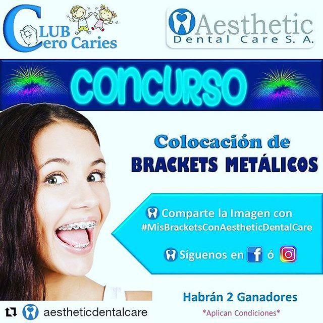 #Repost @aestheticdentalcare (@get_repost) ・・・ ✔CONCURSO GANA UNA COLOCACIÓN DE BRACKETS METÁLICOS  Participando  @AestheticDentalCare. .  #MisBracketsConAestheticDentalCare. #AestheticDentalCare  #ClubCeroCaries 💙 . #ortodoncia #brackets #ortopediamaxilar #Vivaguayaquil #guayaquil_ecuador #guayaco #concurso #sorteo #rifa #concursosguayaquil #guayaquil #guayas #gye #ecuador #villamilplayas #durán #samborondon #salinas #montañita #fds #montereylocals #salinaslocals- posted by Yomira Espinoza…