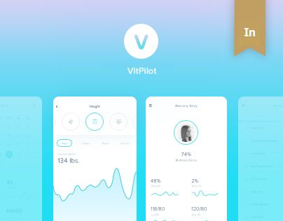 "Check out this @Behance project: ""VitPilot (Mobile App)"" https://www.behance.net/gallery/42058853/VitPilot-(Mobile-App)"