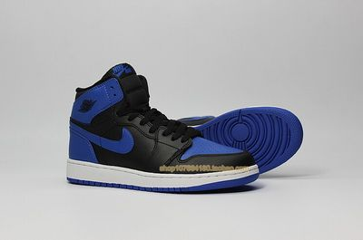 Authentic Nike Air Jordan 1 Royal Blue(W) Shoes Violet Women/Mens shoe Shop Online Salenikestore Num.F0044