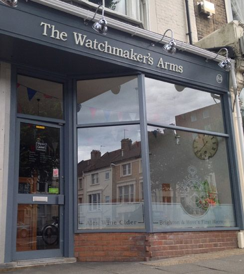 The Watchmaker's Arms | Brighton & Hove's First Micropub