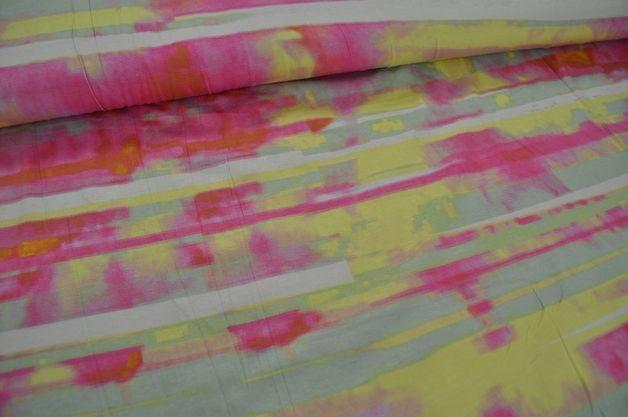 Viscose jersey Span Print Muster 1