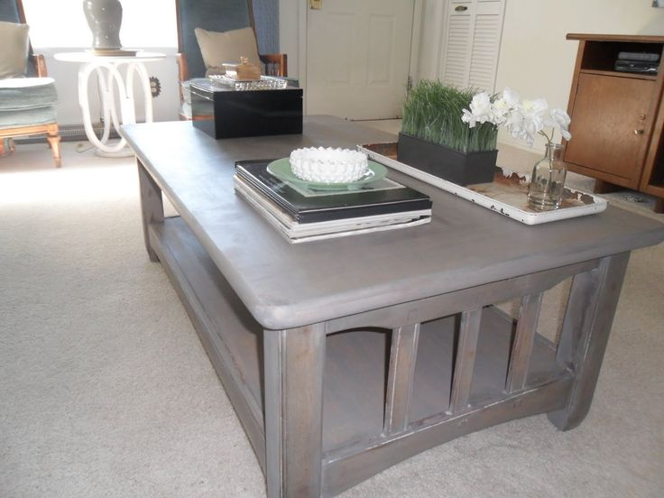 1000 Ideas About Refinished Coffee Tables On Pinterest Refinish Coffee Tables Furniture Redo