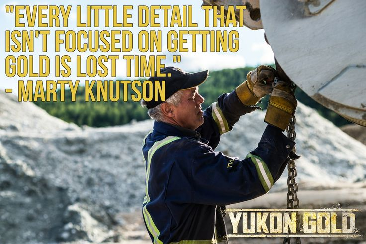 Words to live by from Marty Knutson.