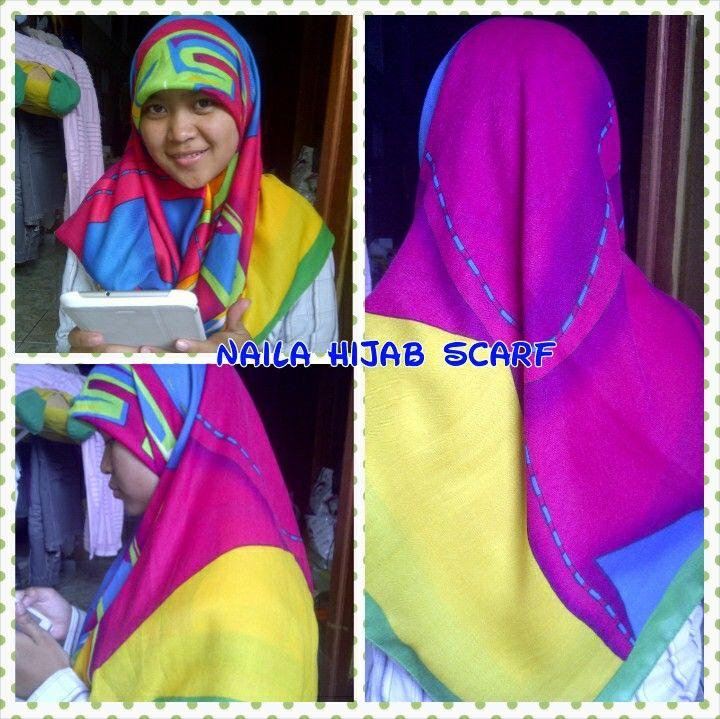 Mari di order yuks hijabnya Bisa hubungi kami via WA or LINE 082231440505 Bbm 25e242c1 or 513bb04f Inboks ; 1 facebook naila hijab scarf 2 fanspage naila boutique & scarf 3 twitter @hijab_naila Don't forget klw punya instagram follback ia Naila_hijab_scarf