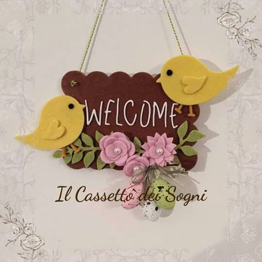 Targa fuoriporta Pasqua! https://www.facebook.com/Il-Cassetto-dei-Sogni-1890162974542736/