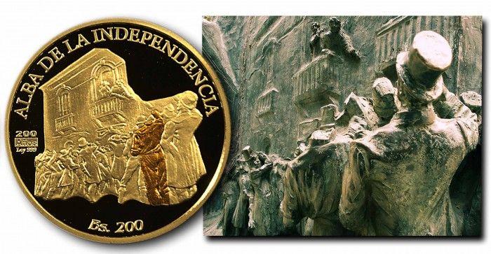 """La Historia del """"Hombre sin Cabeza"""" de la Moneda del Bicentenario"""