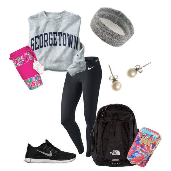 """Finals Day 1"" by bebeavery on Polyvore cheap nike free 5.0 only $49, save up to 61% off for all #Nikes #Shoes"