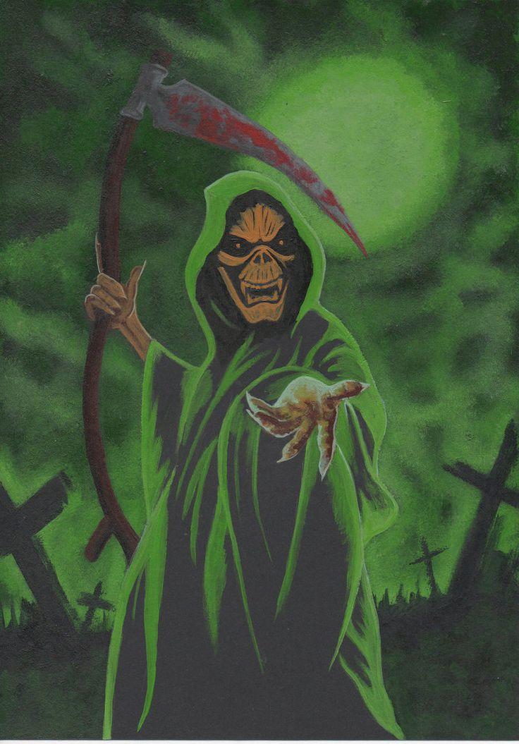 Scary Grim Reaper Drawings | Grim Reaper 3 by dieselboy666