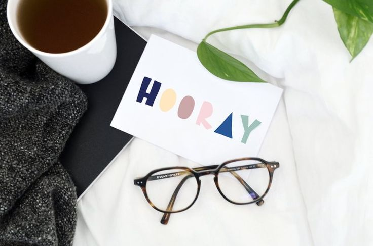 CARD | Hooray Hand lettering all occasions greeting card