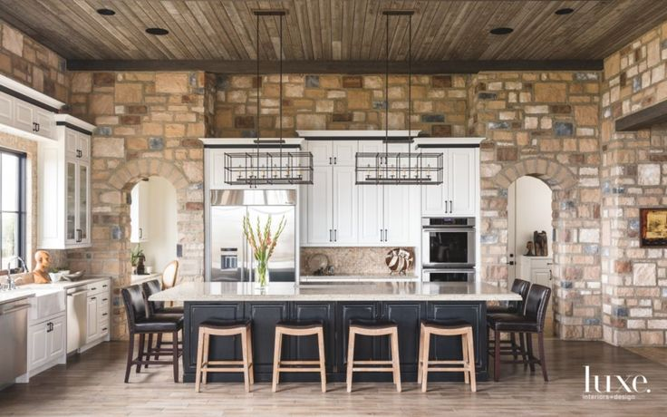 Whether it's a farmhouse-inspired retreat accented with copper cookware or a modern chef's kitchen complete with sleek marble countertops and stainless-steel fixtures, today there are more options than ever for creating a functional and beautiful space for cooking and entertaining. With an endless variation of materials, island shapes and sizes, paint colors for cabinetry and backsplash designs, there are numerous ways to make a distinctive mark on the home's foremost gathering place. Here…