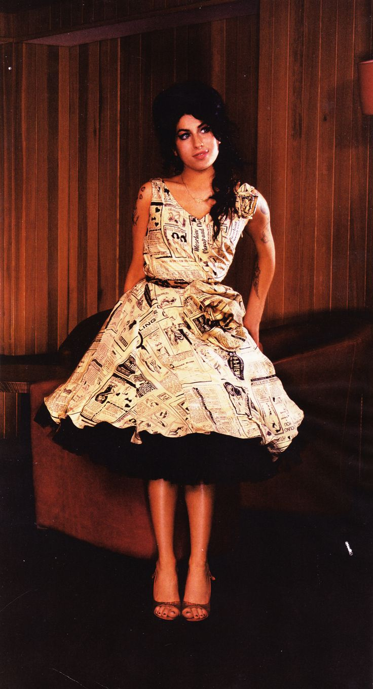 newspaper dress Cute