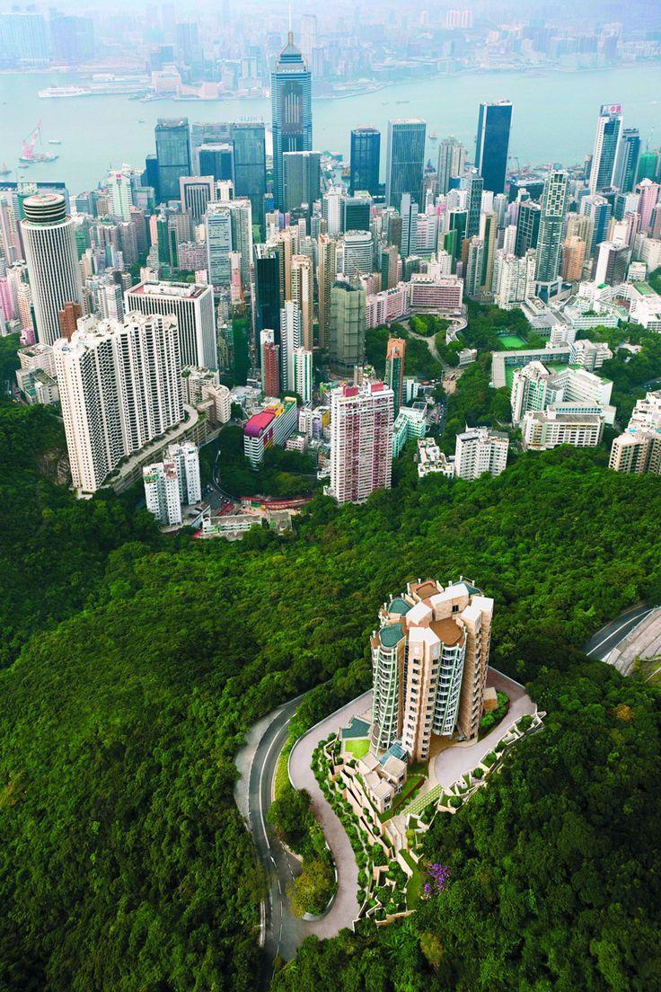 Hong Kong - so much green space!