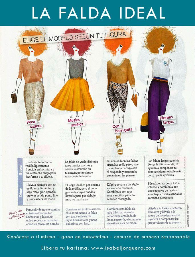 Encuentra tu falda ideal #asesoriadeimagen #personalshoppermadrid #cambiodeimagen