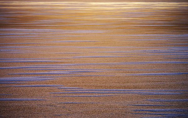 Sunset over frozen sea in Finland - prints for sale