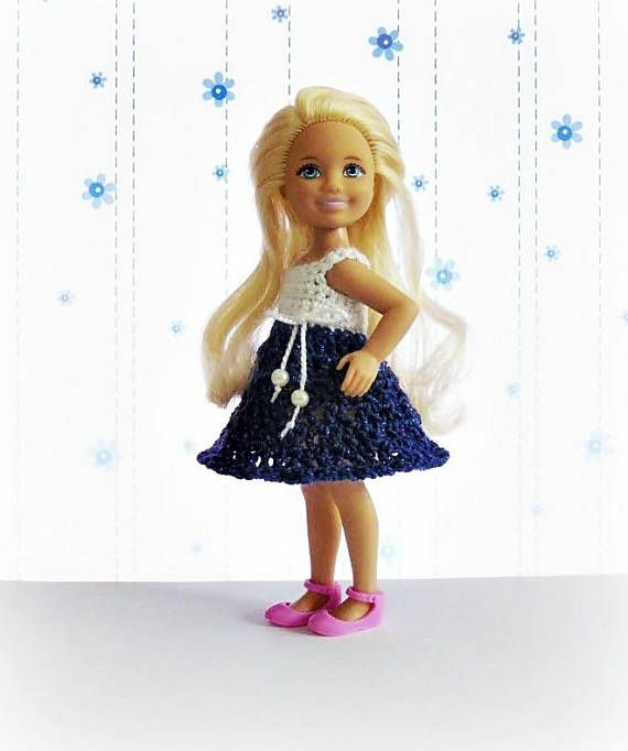 Chelsea doll dress Barbie sister Chelsea doll clothes Kelly